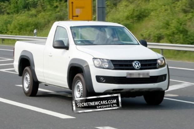 Volkswagen Amarok versión cabina simple