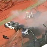 Brasil, accidente en la Fórmula Truck
