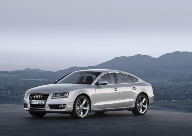 Audi A5 Sportback, oficial