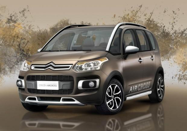 Citroën C3 Aircross comienza la producción