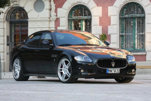 Maserati Quattroporte con 590HP by Novitec