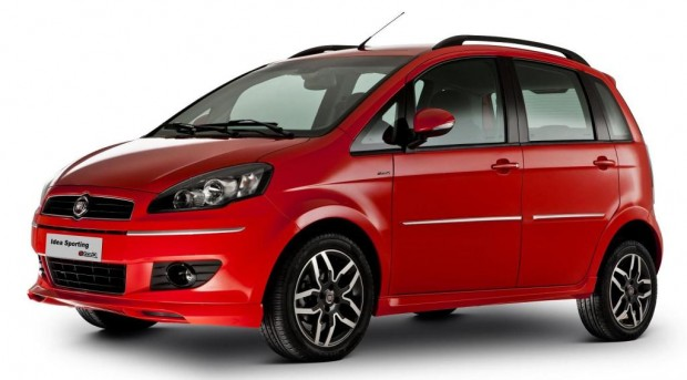 Nuevo Fiat Idea 2011, Oficial