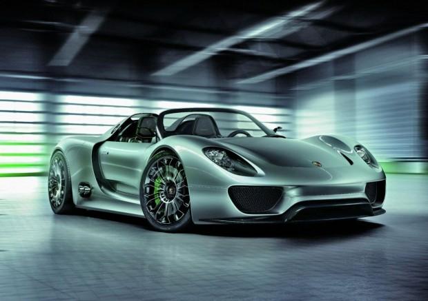 Porsche 918 Spyder comienza la producción