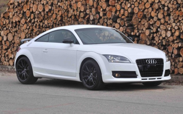 Audi TT White Edition, para Brasil