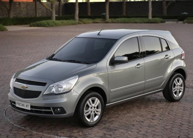 Chevrolet Agile, llamado a revisión