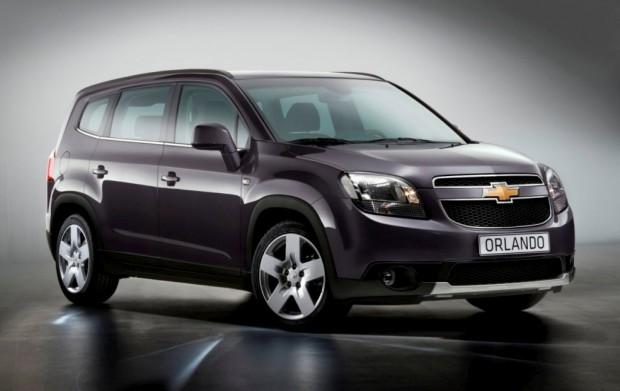 Chevrolet Orlando 2011 fotos oficiales