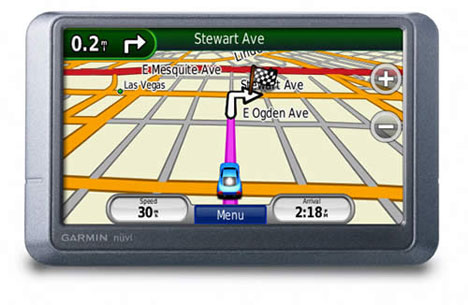 GPS Garmin Nüvi algunos modelos a revisión