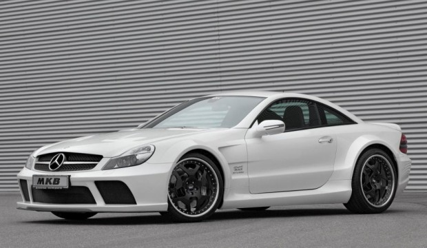 Mercedes Benz SL 65 AMG Black by MKB 01