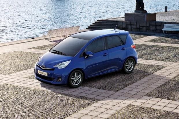 Toyota Verso S debuta en el  Salón de París 2010