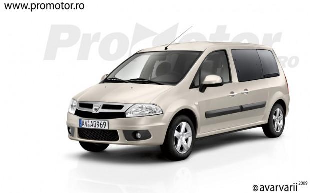 Dacia, un inédito modelo MPV para 2012