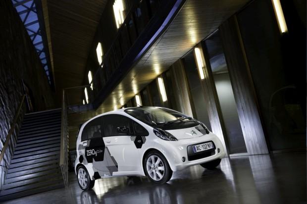 Citroën C-Zero solución 100% eléctrica hecha realidad.