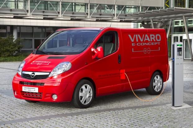 Opel Vivaro e-Concept Hybrid Van 2010