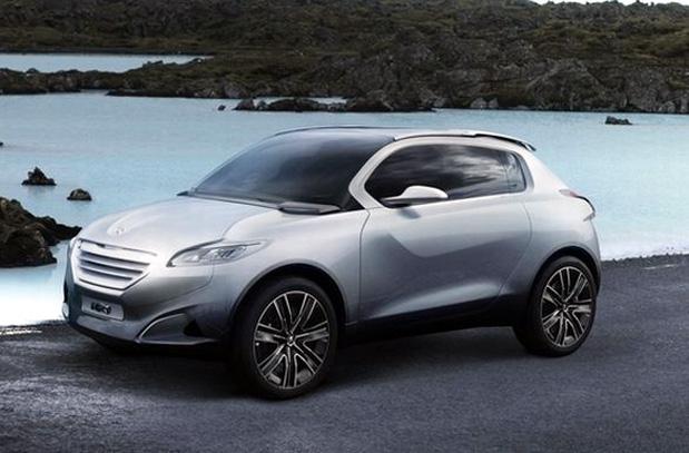 Peugeot HR1 concept en el Salón de París