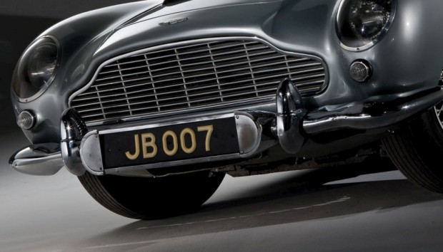 Aston Martin DB5 de James Bond sale a remate