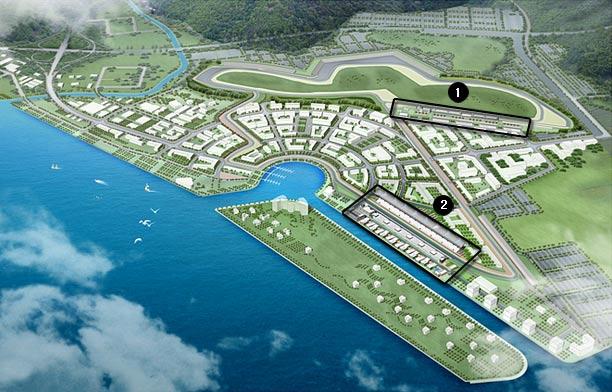 Fórmula 1, Gran premio de Korea en Yeongam