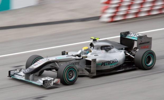 F1 en Buenos Aires, exhibición de Mercedes Benz