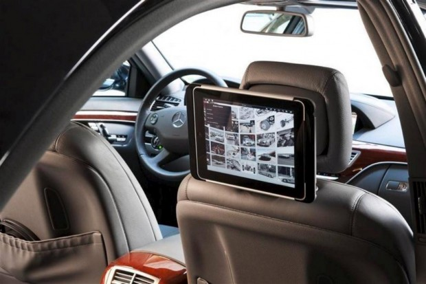 Ipad en los Mercedes Benz