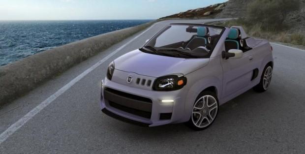 Nuevo Fiat Uno Cabrio Concept