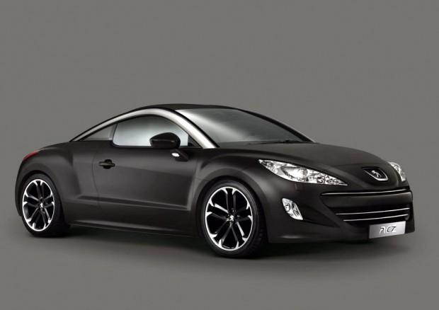 Peugeot RCZ Black Asphalt