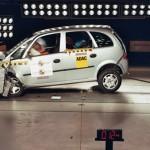Chevrolet Meriva GL Plus, Latin NCAP Crash test