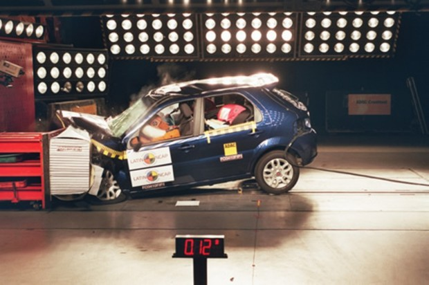 Fiat Palio ELX 1.4, Latin NCAP Crash test