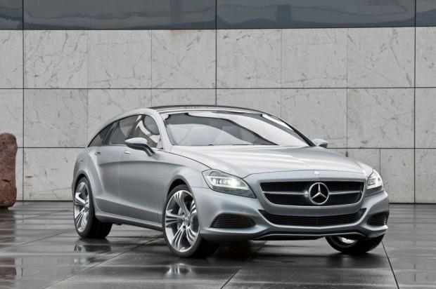 Mercedes Benz CLS Shooting Brake Concept