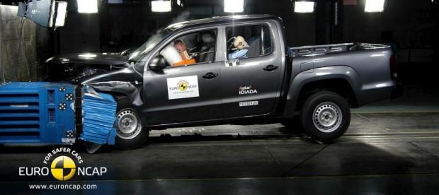 Volkswagen Amarok, 4 estrellas en la EuroNcap