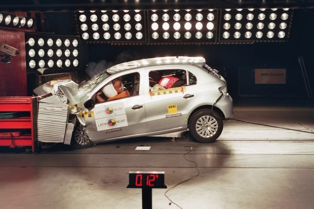 Volkswagen Gol Trend 1.6, Latin Ncap Crash Test