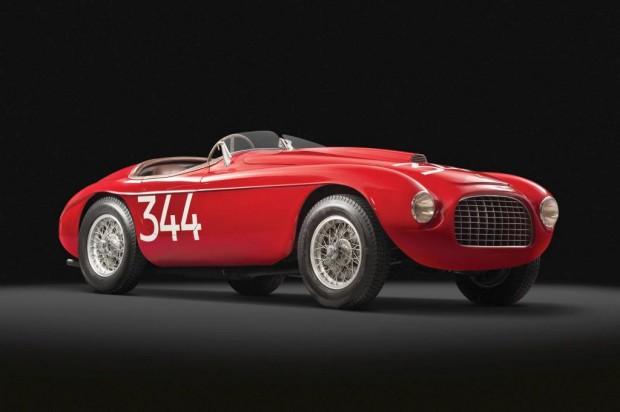Ferrari 166 MM Touring Barchetta  de 1949 sale a remate