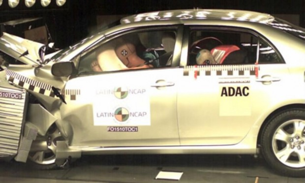 Toyota Corolla XEi, Latin Ncap Crash test