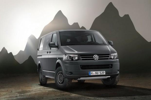 Volkswagen presentó su Transporter Rockton 4MOTION
