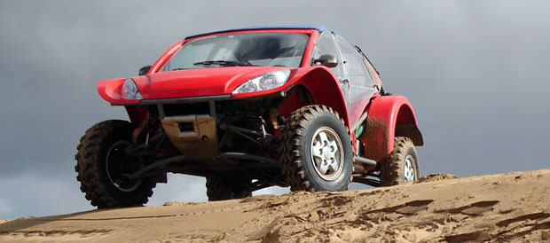 Paneus, un vehículo Argentino en el Dakar 2011