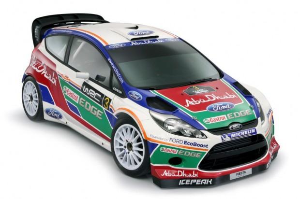 Ford presentó el nuevo Fiesta RS WRC