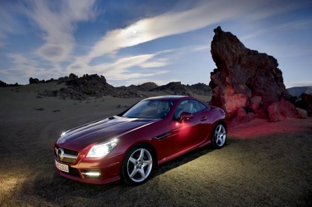 Nueva coupé Mercedes Benz SLK 2012