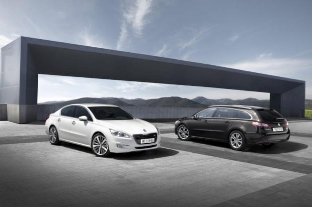Peugeot 508 Sedan y SW