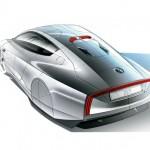 Volkswagen Studie XL1/Designskizze