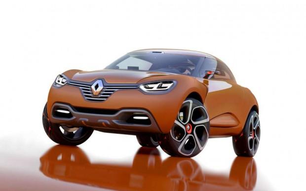 Renault Captur Concept, con nueva estrategia de diseño