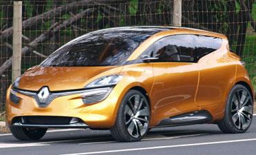 Renault R-Space Concept primeras imágenes espía