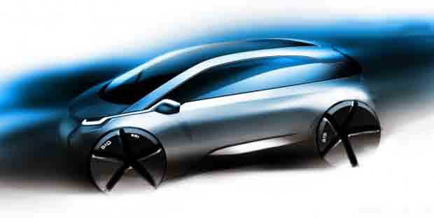 BMW presentó la submarca «i», para sus autos eléctricos