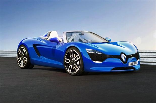 """Renault produciría un roadster con la firma de """"Renault Sport"""""""