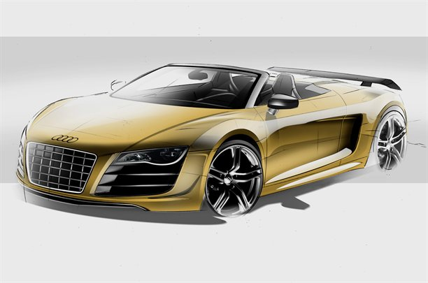 Audi R8 GT Spyder se mostrará en Le Mans