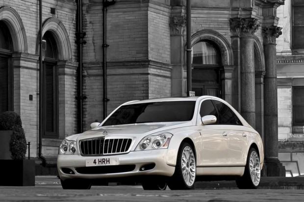 Maybach 57 by Project Kahn inspirado en la boda real Británica 2011