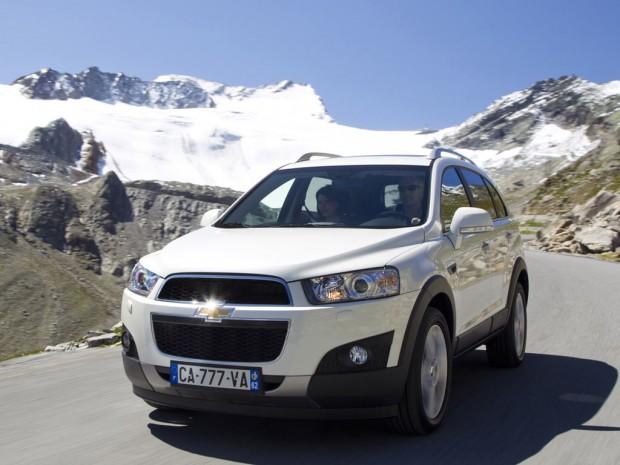 Chevrolet Captiva 2011 con nuevos motores y diseño modernizado