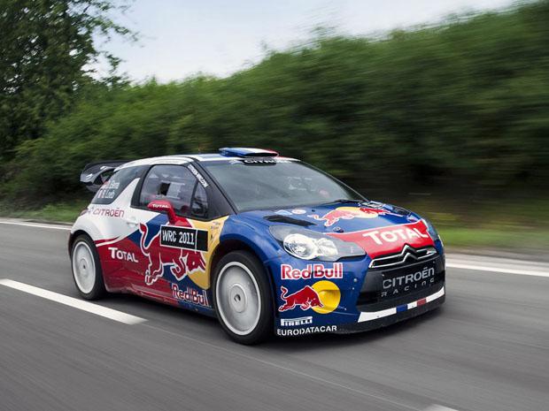 Citroën, road show con el DS3 WRC en el Obelisco