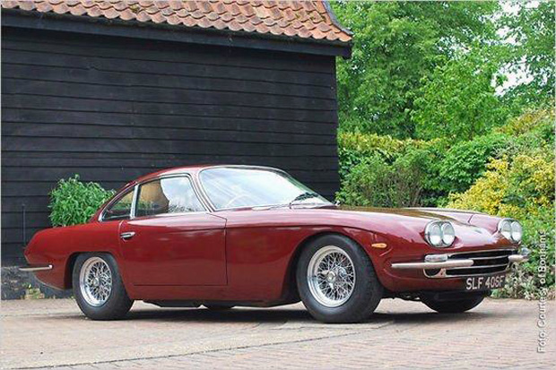 Lamborghini 400 GT 1967 ex de Paul McCartney, sale a la venta