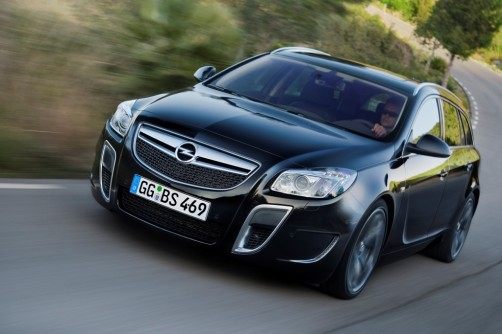Opel Insignia OPC sports tourer 2011