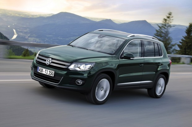 Volkswagen Tiguan restyling  para 2012