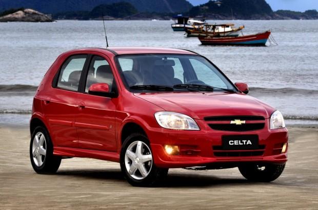 Chevrolet Celta, Ficha técnica