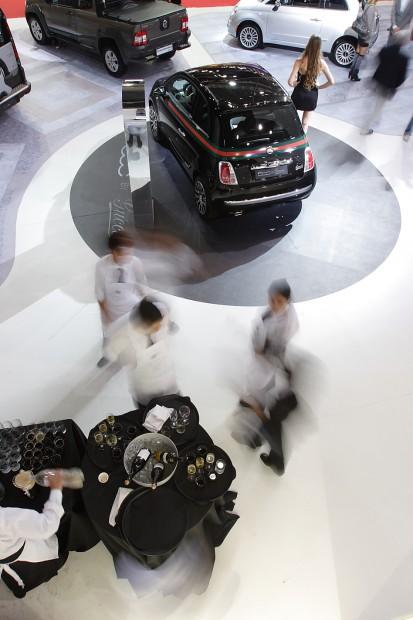 Fiat en el  Salón de Buenos Aires 2011