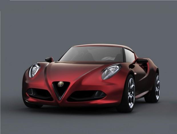 Alfa Romeo 4C, en Goodwood 2011